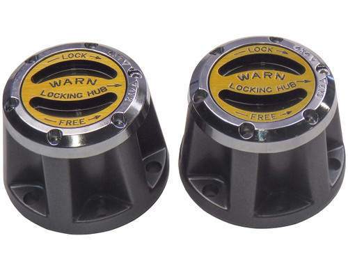 QU15027 1942-1973 Premium Lockout Hub Set for Jeep and Scout