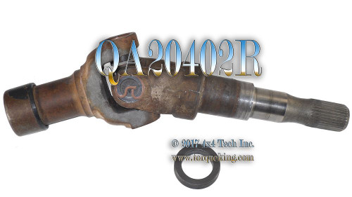Used Right Differential Output Shaft Assembly QA20402R