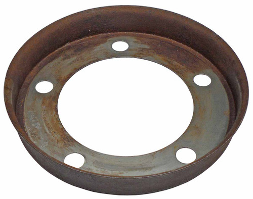 QU20568U Used Round Inner Disc Brake Shield for 4x4 1983-1989 Ford Ranger and 1984-1989 Ford Bronco II.