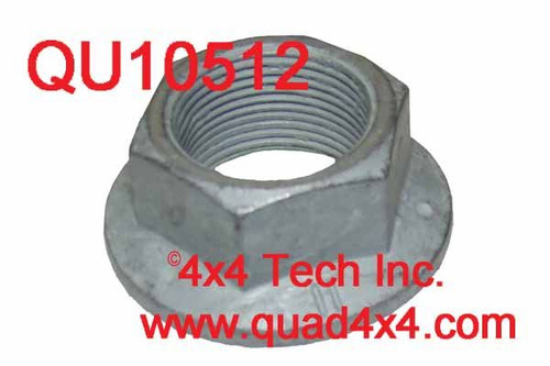 QU10512 Front Output Flange Lock Nut for NPG and NVG Transfer Cases