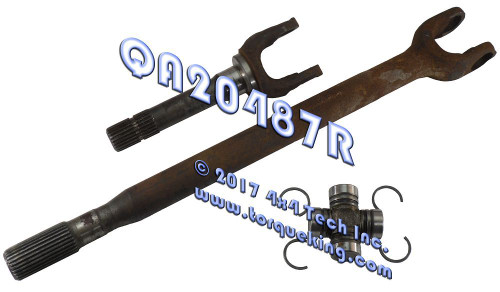 QA20487R Recon Right Axle Shaft Assembly 1983-1989 Ranger & Bronco II