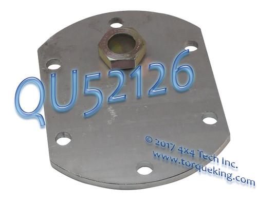 QU52126 COVER W/ GLASS