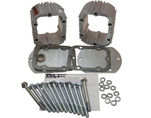 QK1018 Double Manual Transmission Cooler Kit for Ram G56 6 Speeds