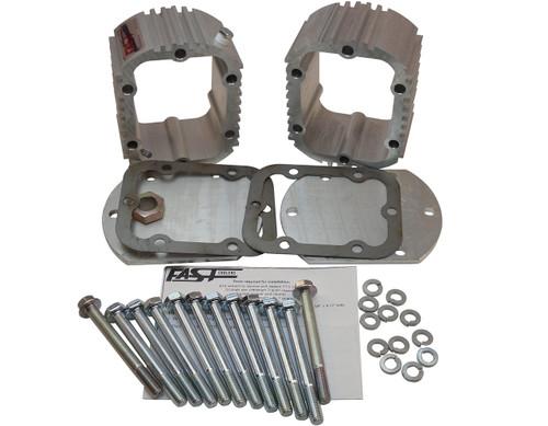 QK1018 Double Manual Transmission Cooler Kit for Ram G56 6 Speeds