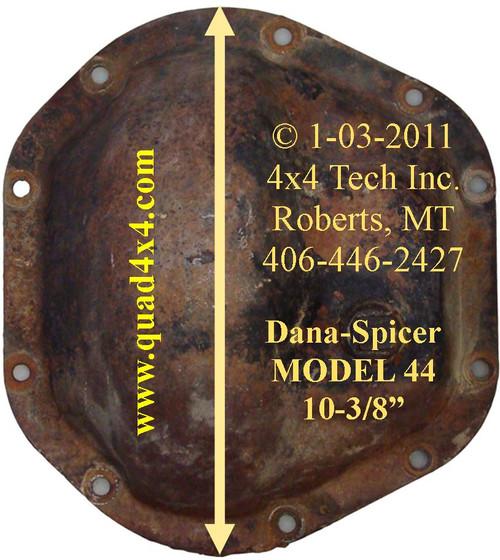 Dana 44 Diff Cover ID IDN-107