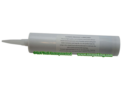 Closed Knuckle Lubricant for Closed Knuckle 4x4 Front Axles