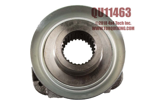 "QU11463 1310 27 Spline Cast End Yoke for Chrysler 7.25"" Front, 8.25"" Rear"