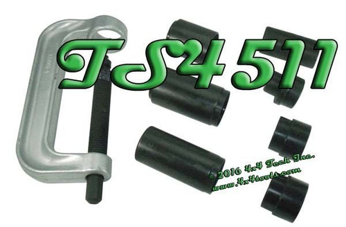 TS4511 8 Piece Ball Joint Press Set for Dana 50 & 60 Axles Applications