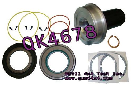 QK4678 Front Knuckle and Hub Seal Kit with Installer for Ford F250, F350
