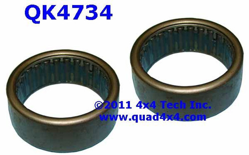 QK4734 Pair of Spindle Bearings for Dana 30, Dana 44, GM 10 Bolt Front Axles