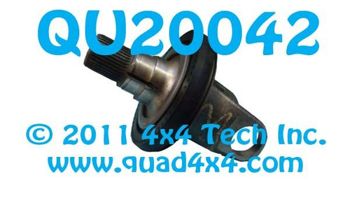 QU20042 Outer Axle Shaft for Ford F250, F350  Dana Super 60 Front Axle