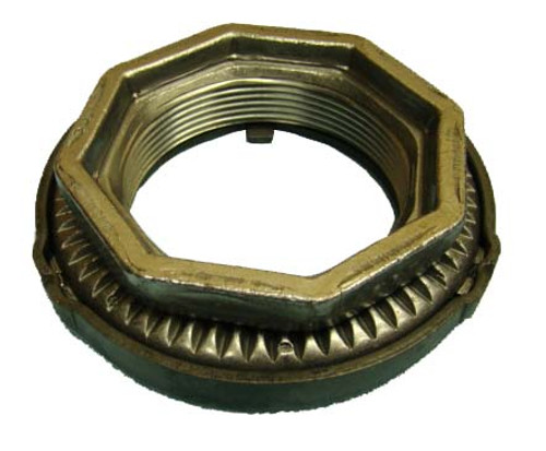QU20088 Ford F-450, F-550 Dana 80, S-110, S-111 Rear Axle Spindle Nut is a genuine original equipment Dana replacement part for Dana S-110 Ford F450 and 550 trucks and Dana S-111 Rear Axles in Dodge, Ram, and Sterling 4500, 5500 trucks