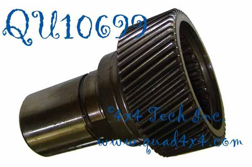 """QU10699 Genuine NPG 29 Spline x 5-1/8"""" Genuine NPG NP241DLD, NP241DHD Transfer Case Input Shaft for 1994-1999 Manual Transmission Dodge Ram Use with optional QU50874 Narrow Input Bearing. This USA made, genuine New Process original equipment replacement part includes a factory installed Input Shaft to Mainshaft Pilot Bearing in the back of the Shaft."""