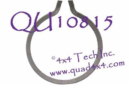 QU10815 NP241DHD Rear Output Bearing to Case Snap Ring for 1996-2002 Dodge Ram 2500, Ram 3500 4x4s
