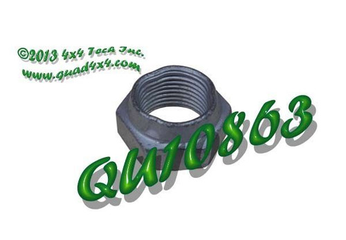 QU10863 Pinion Lock Nut for Many AAM, Dodge, and GM Axles