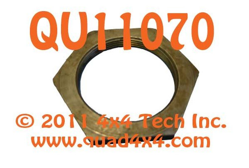 """QU11070 2-9/16"""" Hex x 2"""" ID Hex Spindle Nut for Dodge Dana 60, 70 Axles"""