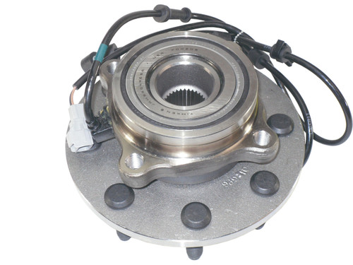 QU10595 OEM ABS Front 4x4 Hub Assembly for 2000-02 Ram 2500, 3500 Rear View
