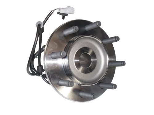 QU10595 OEM ABS Front 4x4 Hub Assembly for 2000-02 Ram 2500, 3500 Front View