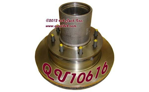QU10616 90-93 HUB & ROTOR