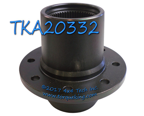 New Front Wheel Hub with Timken Bearing Cups TKA20332