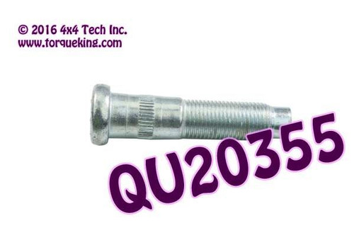 "QU20355 9/16"" Front Wheel Bolt for 1980-1997 Ford F250, F350 4x4"