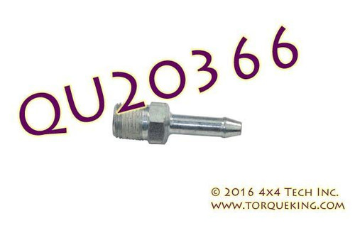 QU20366 Hub Vacuum Fitting for Ford 4x4 Steering Knuckles