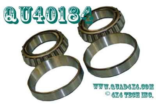 QU40184 Timken Dana 60, Dana 70 4 Piece Differential Bearing Set