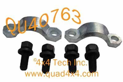 Strap and Bolt Kit for Detroit Universal 7290 Series Driveshaft U-Joints  in Dodge and Ram Trucks, SUVs, and 4x4s QU40763