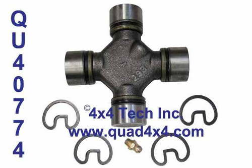 QU40774 Hot-forged Greaseable 1330 Series U-Joint