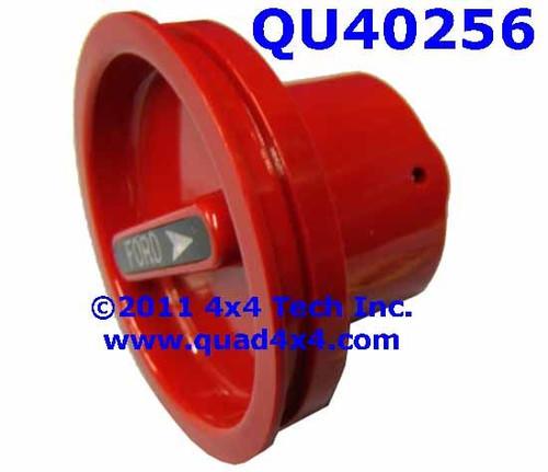 QU40256 Dana Spicer Dana 44 and Dana 60 Red Plastic Lockout Hub Dial