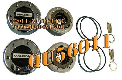 QU56011 Warn 11690 Dana 50, Dana 60 Internal Spline Mount Hub Locks