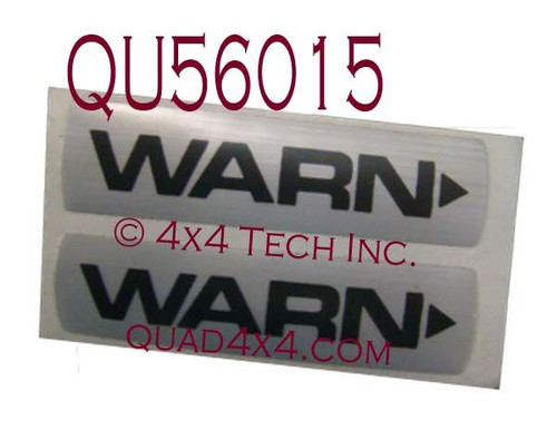 QU56015 Warn Hub Decal Set