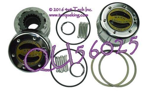 QU56025 WARN 38826 Premium Lock-Out Hub Set Dana 50, Dana 60 Axles