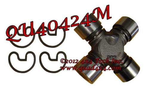 QU40424M Solid Cross Axle Universal Joint for Dana 44HD, Ford Dana 60