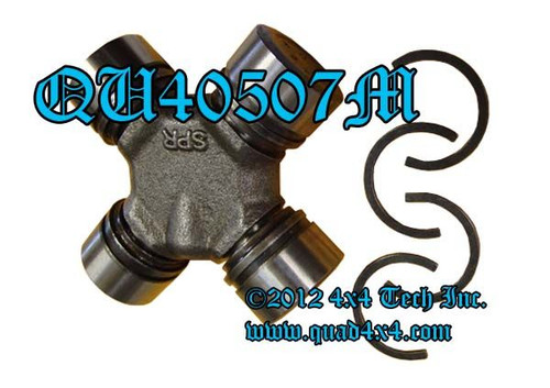 QA40507 Axle U-Joint for Closed Knuckle Dana 25, 27, 30 and 44 Axles