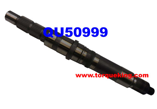 QU50999 New Venture  NV271D and NV273D Transfer Case Rear Output Shaft for 2007-2012 Ram 3500, Ram 4500, Ram 5500 Cab and Chassis trucks with Fixed Flange Yoke type Transfer Case Output