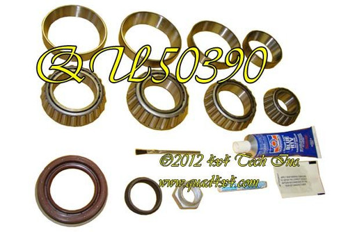 """QU50390 Rear Differential Bearing and Seal Kit for 2000-2007 9-1/4"""" Rear"""