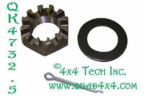QK4732.5 4x4 Front Axle Shaft Nut Kit for 1 Side