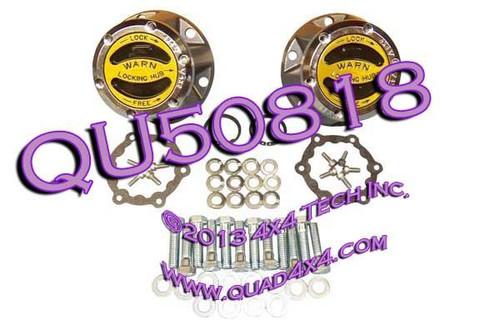 QU50818 Warn 9072 External Manual Locking Hub Set