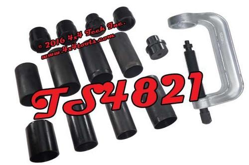 TS4821 14 Piece Master 3/4 and 1 Ton 4x4 Ball Joint Press Set