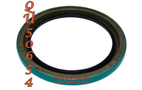 QU50654 Front Wheel Seal for Vintage 4x4 Dana Front Axles