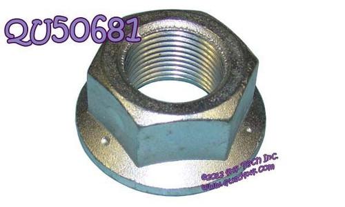 QU50681 NV271, NV273 Input or Rear Output Flange Lock Nut
