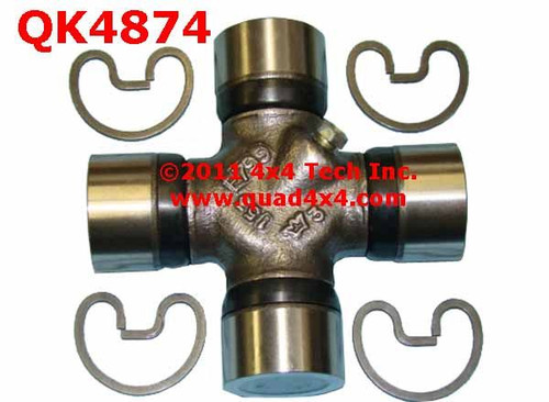 QA4874 Greaseable External Snap Ring Axle Universal Joint