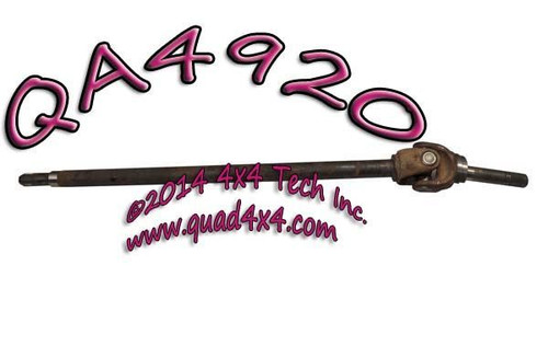 QA4920 RIGHT AXLE SHAFT ASSY