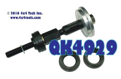 QK4929 2007-2011 JK Rubicon Front Inner Axle Seal and Tool Set
