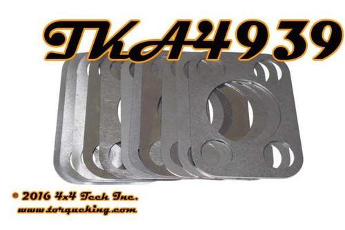 TKA4939 11 Piece Premium Steering Knuckle Shim Kit Dana 25-44 Axles