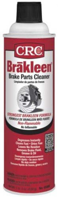 05089 CRC BRAKLEEN Brake Parts Cleaner 19 Ounce Aerosol Can