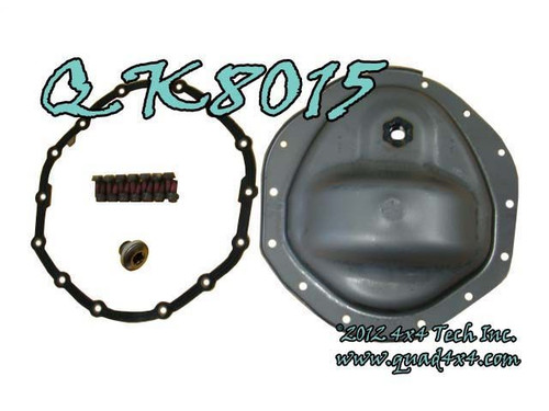 AAM 925 14 Bolt Front Differential Cover Kit for 2003-2013 Ram
