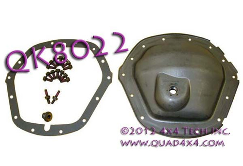 """QK8022 GM AAM 11-1/2"""" Rear Axle Differential Cover Kit"""