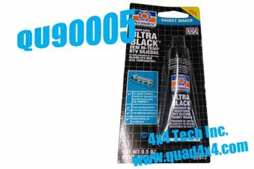 Small Ultra Black RTV Sealant QU90005